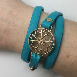 Jewelry - Signature Turquoise leather Wrap Bracelet